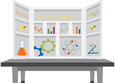 science project tri fold